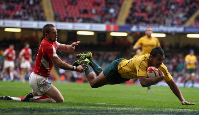 Kurtley Beale vs Wales