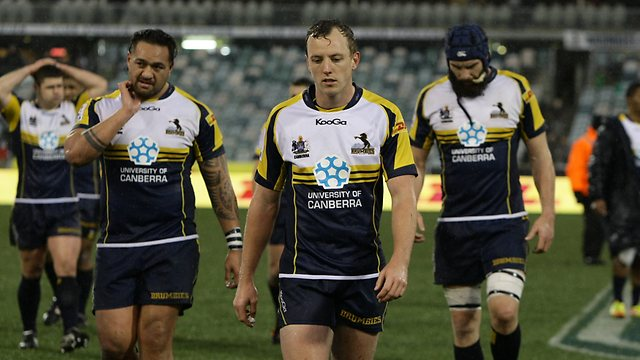 Jesse Mogg and the defeated Brumbies