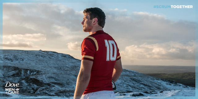 Biggar contemplates his future, looking east across the Beacons...