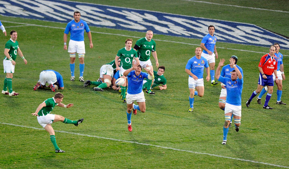 Ronan O'Gara Drop Goal against Italy