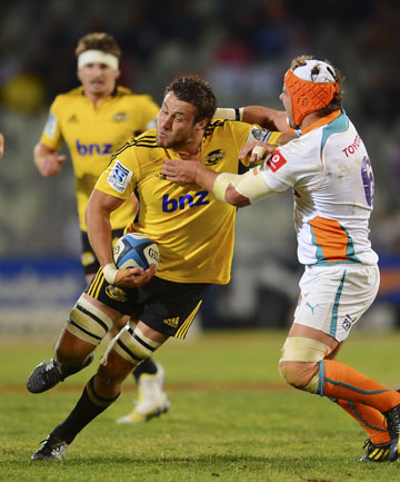 Super Rugby - Cheetahs v Hurricanes, 10 May 2013