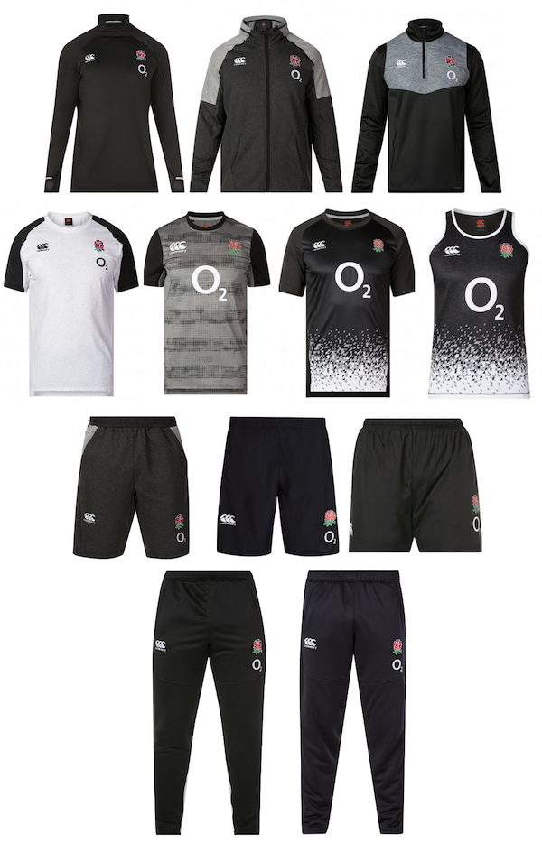 WIN England Rugby Training Kit from Canterbury | The Rugby Blog